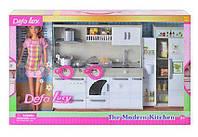 """Кукла с набором мебели """"Кухня"""", Defa, 6085"""