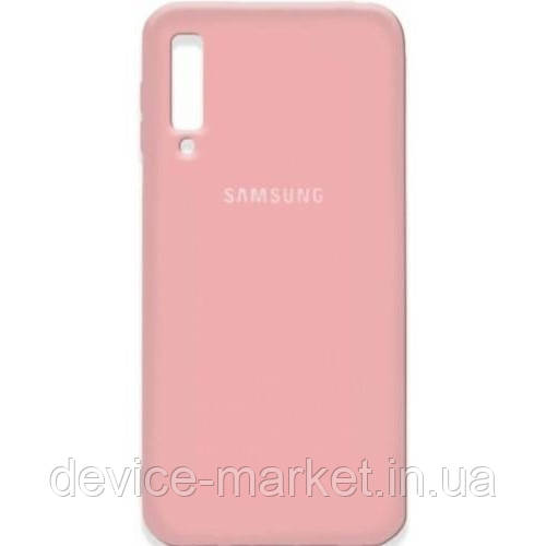 Silicone Cover Samsung A750 Pink (Код товара:9431)