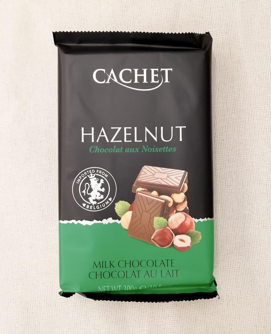 Cachet milk chocolate Hazelnut 300 gramm