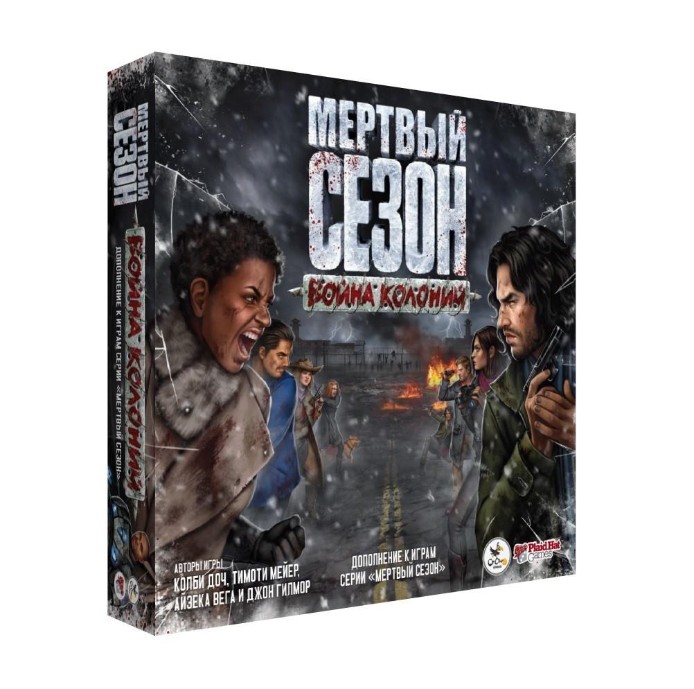 Настольная игра Crowd Games Мертвый сезон. Война колоний
