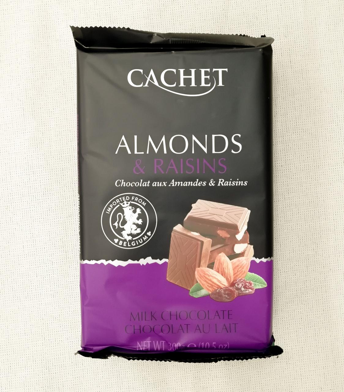 Cachet Almonds & Raisins 300 gramm