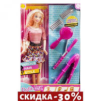 Кукла Defa Lucy: Стилист (кофта в полоску)