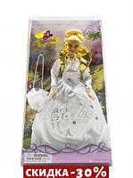 Кукла Defa Lucy с сумкой (в белом платье)