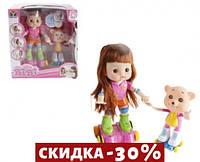 Интерактивная кукла роллер BIBI с мишкой