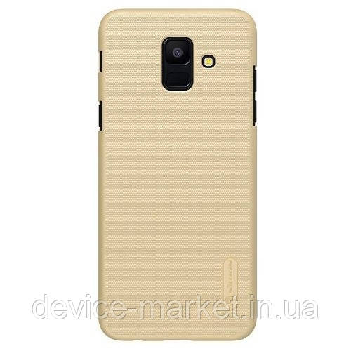 Чехол Nillkin Samsung A6 (2018)/A600-Super Frosted Shield Gold (Код то