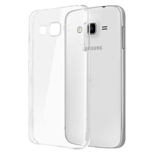 Ultra Thin Silicon Case Samsung J320 (J3-2016) White (Код товара:3428)