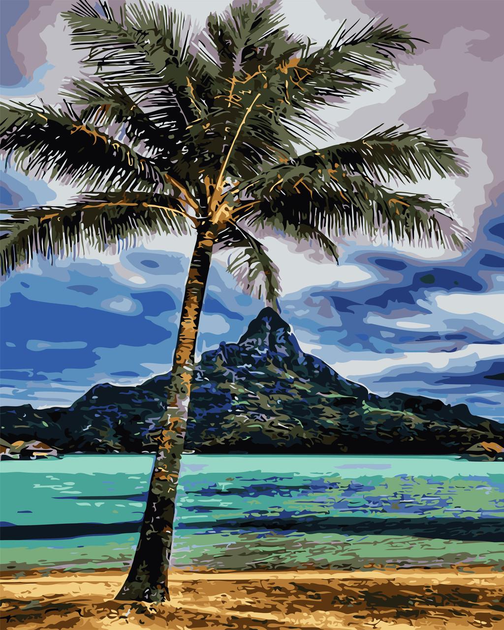 Картина по номерам - На Гавайях ArtStory 40*50 см. (AS0716)