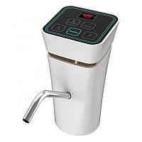 Автоматическая аккумуляторная помпа на бутыль для воды EL-1151 белая Диспенсер насос для бутыля