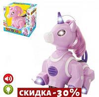 Музыкальная игрушка Единорог (фиолетовый)
