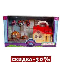 Кукольный дом Petshop с героями и мебелью