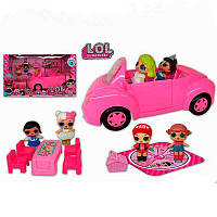 Автомобиль с куклами и аксессуарами ТМ 853