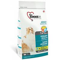 Корм для котов склонных к мочекаменной болезни 1st Choice Urinary Health, Вес 5,44 кг