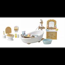 Sylvanian Families Calico Critters Загородная ванная комната 1748 Country Bathroom Set