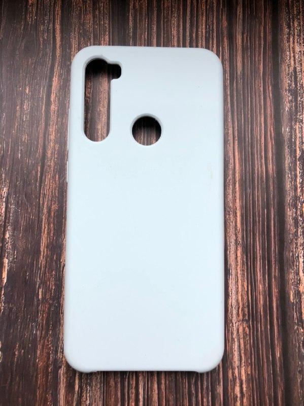 """Чехол Xiaomi Redmi note 8 T - """"Кремово-лиловый №5"""""""