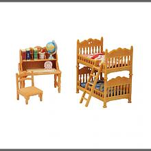 Sylvanian Families Calico Critters Детская спальня Children´s Bedroom Set