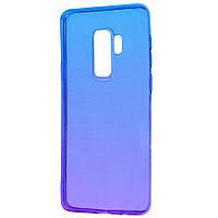 Чехол Silicone case (Gradient Design) для Samsung Galaxy S9+