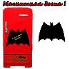 Меловая доска на холодильник Бетмен (размер 25х20см)