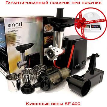Мясорубка электрическая Smart MG-1013R 1600 Вт + весы SF-400