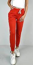 Спортивные штаны женские красные трикотаж с манжетами р. 42 Оschino (1230106238), фото 2
