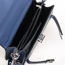 Сумка Женская Классическая иск-кожа FASHION 7-03 17022-1 blue, фото 3