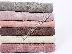 Махровое полотенце банное CESTEPE FALFA (140*70)