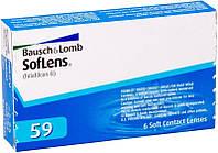 Контактные Линзы Soflens 59 (Упаковка 6 шт) (-0.50...-9.0) 1 месяц
