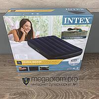 Пляжный надувной матрас для плавания Intex одноместный плавательный для купания пляжа моря и воды интекс дома