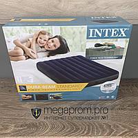Пляжный надувной матрас для плавания Intex полуторный плавательный для купания пляжа моря и воды интекс дома