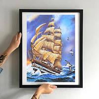 Картина Корабль Гармонии МММР-003 [Материал: Габардин подклеенный флизелином]