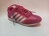 Жіночі-підліткові кросівки для дівчинки Meekone малинові, фото 1