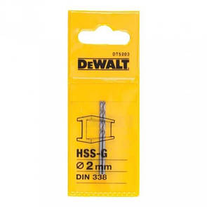 Сверло по металлу DeWALT DT5203