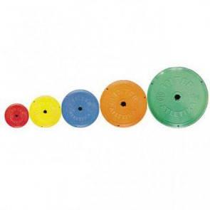 Диск InterAtletika SТ521.2 цветной 1 кг  (ДОМ)