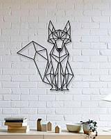 """Декор для стен. Панно из металла """"Лис"""""""