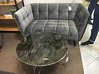 Прямой диван Signal Castello Velvet 2 Серый (CASTELLO2V14)