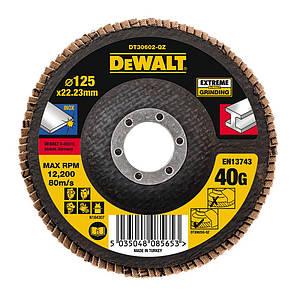 Круг шліфувальний пелюстковий плоский DeWALT DT30602