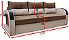 Прямой диван Респект Люкс Вика, фото 2