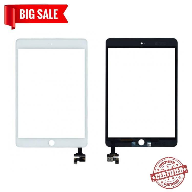 Сенсор (тачскрін) для планшета Apple iPad Mini, iPad Mini 2 Retina (з мікросхемою) білий