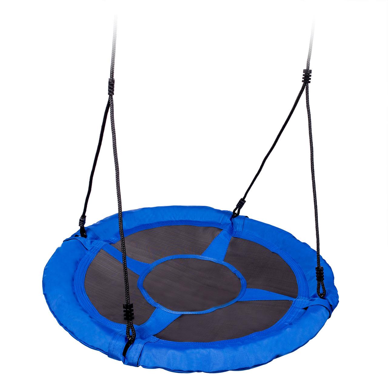 Качеля гнездо подвесная садовая 95cm Neo-Sport Swingo XXL синий (9270)