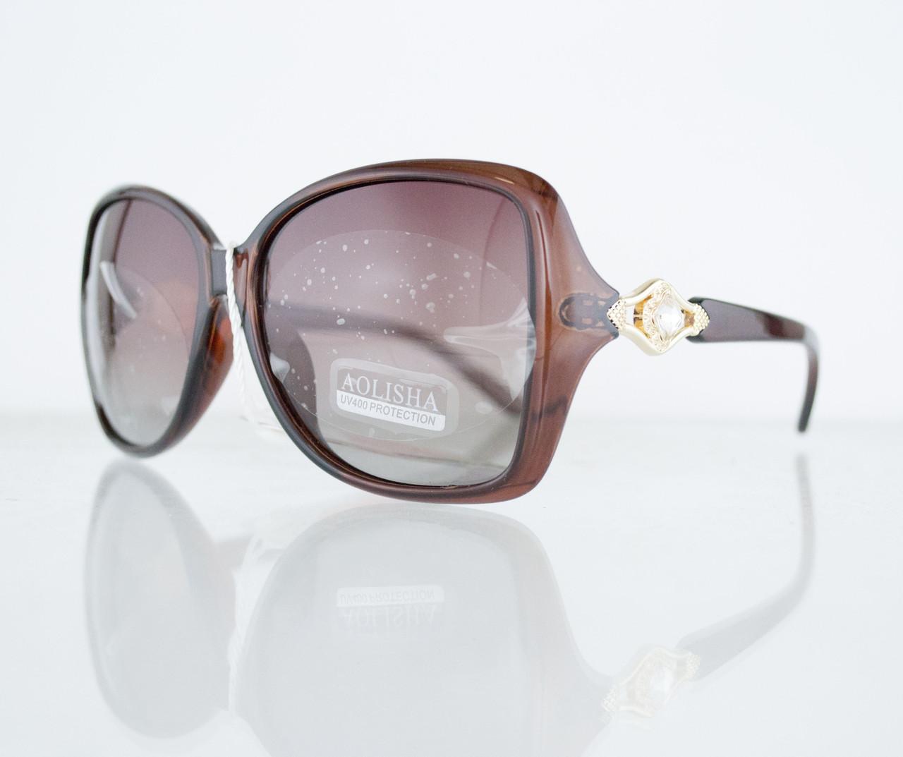 Очки женские солнцезащитные поляризационные - Коричневые - 1553