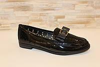 Туфли женские черные Т1104