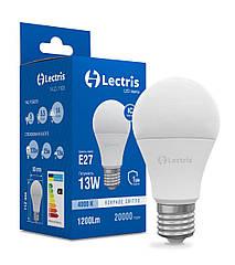 Лампа LED Lectris A60 13W 4000K 220V E27