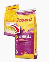 Josera Miniwell сухой корм для взрослых собак мелких пород 1.5 кг