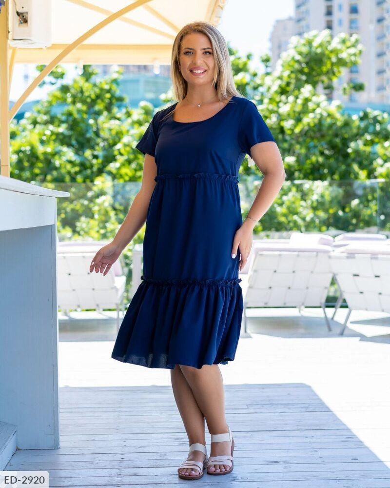 Стильное платье    (размеры 50-56) 0252-64