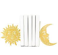 """Держатели для книг """"Солнце и Луна"""""""