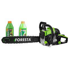 Бензопила цепная Foresta FA-58N + 2 масла