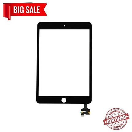 Сенсор (тачскрін) для планшета Apple iPad Mini 3 Black, фото 2