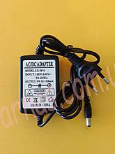 Блок питания 9V 1A Зарядное (адаптер)