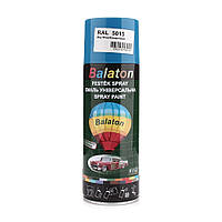 Краска Balaton 5015 голубая 400мл