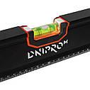 Уровень Dnipro-M ProVision 800 мм с магнитом, боковое окно, фото 9