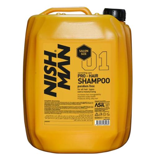 Шампунь Nishman Professional with Keratin Complex Shampoo 5 л